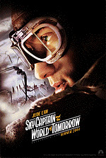 Movie poster for Sky Captain the World of Tommorow